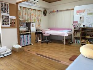 助産院のお部屋