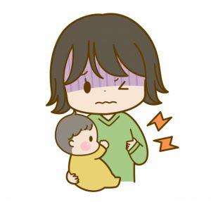 乳腺炎でおっぱいが痛いママ